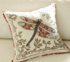 Love this pillow from Pottery Barn