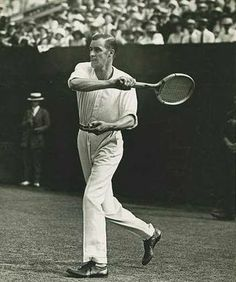 """William """"Little Bill"""" Johnston (1894 – 1946) was a former World No. 1 American tennis champion. Bill started to play tennis in early 1906, aged eleven, on the public asphalt courts in Golden Gate Park, San Francisco, California. Johnston was the co-World No. 1 player in 1919 & in 1922 respectively along with Gerald Patterson & Bill Tilden. He won the US Championships in 1915 & 1919, as well as the World Hard Court Championships (Clay) & Wimbledon in 1923."""
