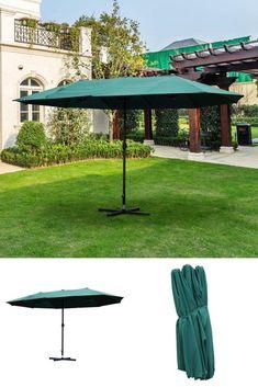 Outdoor Umbrella, Deck Furniture, Canopies, Gazebo, Patio, Garden, Outdoor Decor, Ebay, Home Decor
