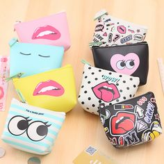Likable Creative Storage Bag Coin Purse Fashion Waterproof Key Case Convenient Small Handbags 8x10cm #>=#>=#>=#>=#> Click on the pin to check out discount price, color, size, shipping, etc. Save and like it!