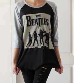 The Beatles Shirts Tee Shirts Jersey Tee by LookLikeLoveSHOP, $18.00