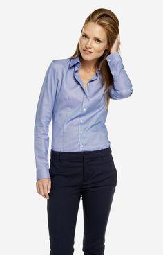 Niebieska koszula damska LAMBERT DL57LB7928