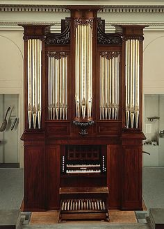 This Organ is the Oldest and Finest Extant Product of the Renowned Boston Craftsman Thomas Appleton (1785-1872)