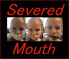 Halloween Make Up Effects - the Severed mouth and other DIY at home Halloween Effects Halloween Dress, Halloween Make Up, Halloween Crafts, Halloween Party, Home Made Simple, Kids Dress Up, Cool Kids, Dressing, Entertaining