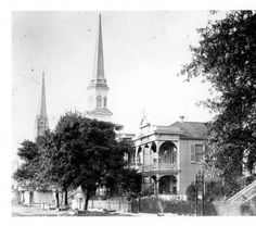 Church Street in late 1800s. :: 'Andrew D. Lytle's Baton Rouge' Photograph Collection