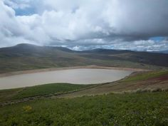 Nice picture of the Mano a Mano water reservoir in Sancayani, Bolivia.