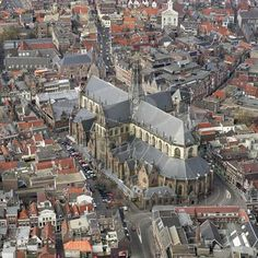 Centrum Haarlem Bavokerk Netherlands, Amsterdam, New York City, Dutch, Gem, City Photo, Cathedral, Buildings, Around The Worlds