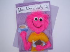 Handmade mothers day card mum birthday card 490 via etsy mothers day card funny handmade card mumhave a lovely day mothers day cards bookmarktalkfo Image collections