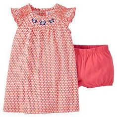 Just One You™Made by Carter's® Baby Girls' A Line Dress - Fiesta Pink