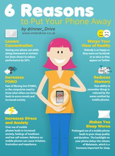 6 Reasons to Put Your Phone Away - Release Your Inner Drive