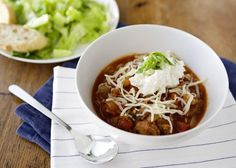 """""""Soup is my favorite thing to make and serve. My Lasagna Soup has all of the great flavor of lasagna with a..."""
