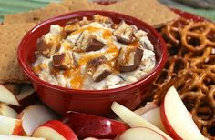Looking for the perfect dessert dip? Have no fear, this Snickers dip recipe is adored by many(especially Steve). Watch the segment and find the recipe here: http://twincitieslive.com/article/stories/s3812996.shtml?cat=12553