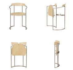 elegant folding modern chair