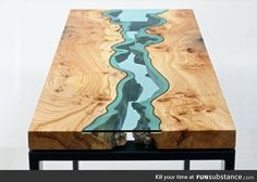 Table topography
