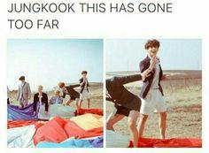 Omg Jungkook. Really