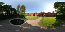 Hrádek u Nechanic - nádvoří s kašnou Golf Courses, Pictures