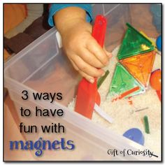 3 ways to have fun with magnets from Gift of Curiosity