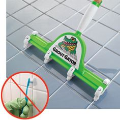 Grout Gator, Grout and Tile Scrubber, Grout Cleaning Brush | Solutions
