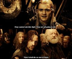 One of my favorites, even if I can't pronounce the elvish version correctly.