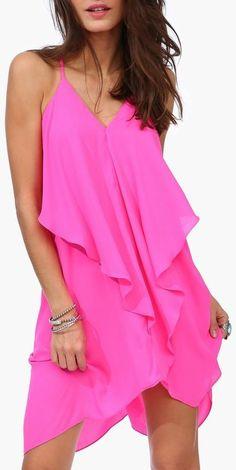 Hot Pink Olivia Dress