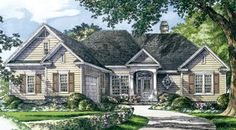 The Adcox House Plans First Floor Plan - House Plans by Designs Direct.