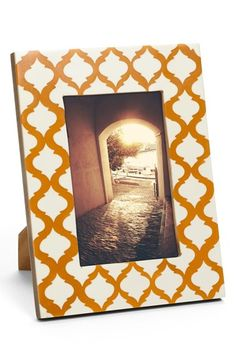 'Moroccan' photo frame - on sale for $5.97 with free shipping! http://rstyle.me/n/qqnnmnyg6