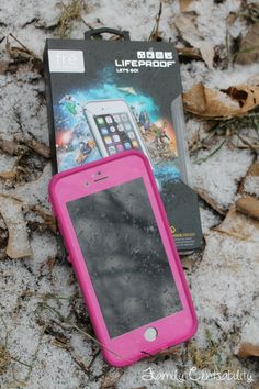 iPhone + Pink + waterproof.. LOVE IT!  (LifeProof case for iPhone 6 review)
