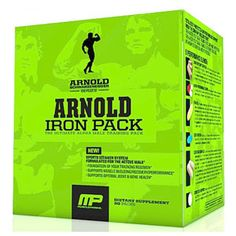 MusclePharm Arnold Series Iron Pack Multivitamin