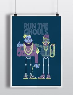 Run The Ghouls - Limited Edition print (Coming Soon)