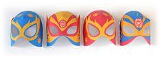 Lucha Libre Printable Masks