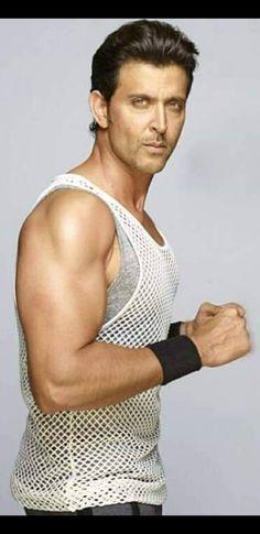 Hrithik Roshan Hairstyle, Krrish 3, Most Handsome Men, Greek Gods, Celebs, Celebrities, Stylish Men, Bollywood, Tank Man