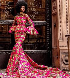 African Formal Dress, African Prom Dresses, African Wedding Dress, Latest African Fashion Dresses, African Wear, African Attire, African Dress, Ankara Gowns, Ankara Fashion
