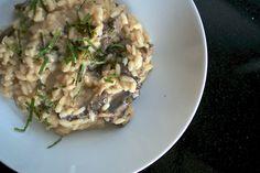 Morel Mushroom Risotto - Photo © Molly Watson  Just made this. So tasty!