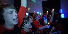 """Astrid Clover and her friends singing along at the Vampire Monkeys concert (From episode 100, """"Vampire Monkeys Mayhem"""" https://www.youtube.com/watch?v=mhmsjmrfdPc)"""