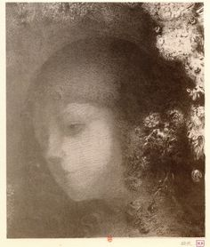 "The Art from Siberia • windypoplarsroom:   Odilon Redon   ""Head of a..."