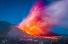 These images by Chilean photographer Francisco Negroni of the Cordón Caulle volcano erupting in 2011 are so jaw-dropping and mind-blowing that we're finding it hard to come up with appropriate adjectives. Billowing clouds of ash are joined by spiderwebs of Volcanic lightning to create a light show that truly drives home Mother Nature's terrifying splendor.