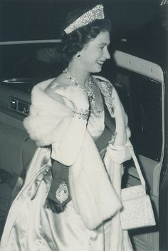 Queen Elizabeth II in Charlottetown, 1959 by Government of Prince Edward Island, via Flickr