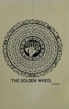 The Golden Wheel.Manual of Cartomancy &... / Sacred Geometry <3