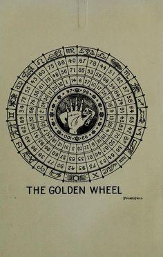 The Golden Wheel.Manual of Cartomancy &... / Sacred Geometry <3