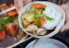 Braised Chicken with Root Vegetables | Assemble Papers