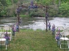 wedding arbour Arbour, Arch, Outdoor Structures, Wedding Ideas, Garden, Longbow, Garten, Lawn And Garden, Gardens