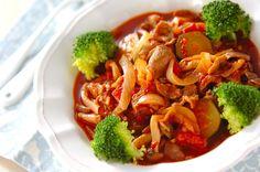 ラム肉のトマト煮のレシピ・作り方 - 簡単プロの料理レシピ | E・レシピ