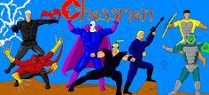Meet the Chessmen from Galaxy Zento