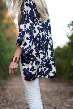 Kimono Cool Tutorial on Elle Apparel Blog