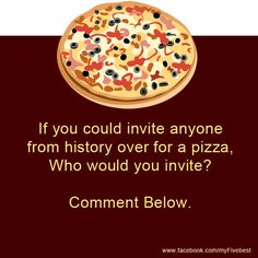 Question Of The Day, This Or That Questions, Naan Pizza, Invite, Invitations, Interesting Facts, More Fun, Fun Facts, Fan