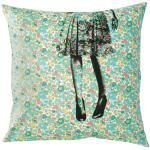 liberty fabric cushion