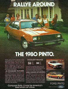 The 1980 FORD Pinto