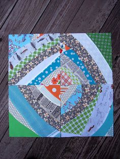 improv curved piecing tutorial  by @Penny Layman. love this!