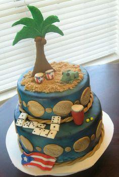 Boricua Birthday Cake