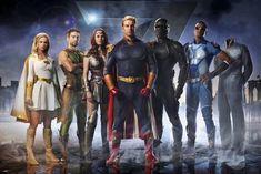20 Super Facts About TV Show 'The Boys' – Vought's premier team of heroes, The Seven, are a loose pastiche of DC's Justice League. Several of the Seven share… Elisabeth Shue, Karl Urban, Nick Fury, Chace Crawford, Vin Diesel, Gotham City, Steve Rogers, Loki E Thor, Marvel Dc
